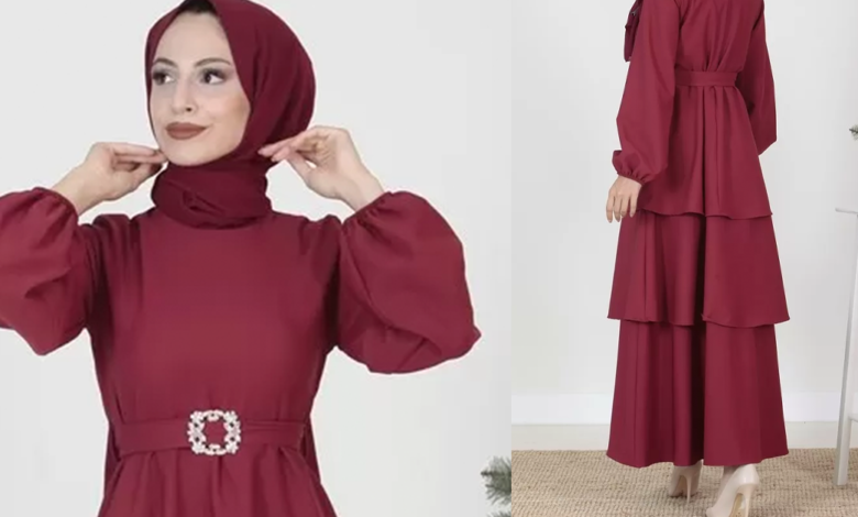 Yaz Sezonu İndiriminden Kacırmamanız Gereken Tesettür Elbise Modelleri
