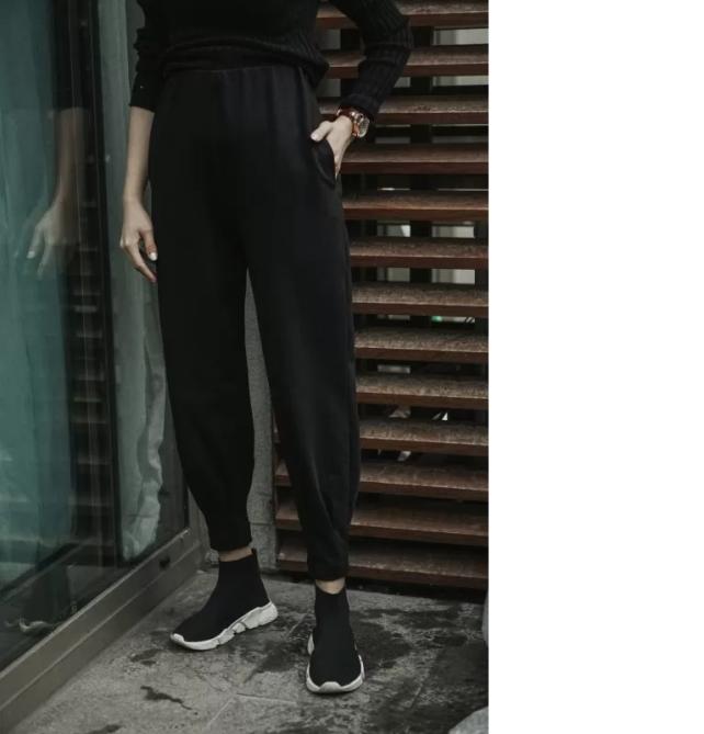 melike-tatar-siyah-pantolon-kombini