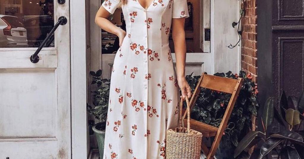 En Trend Yazlık Elbise Kombinleri